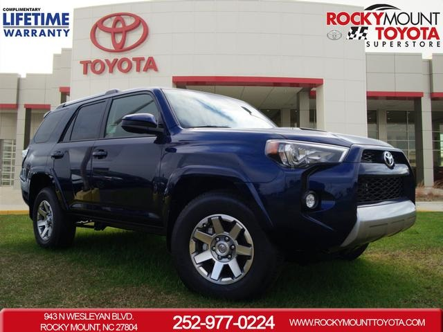 New 2016 Toyota 4Runner Trail